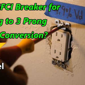 Why Not Just Use an AFCI/GFCI Breaker for 2 Prong to 3 Prong Receptacle Conversion?