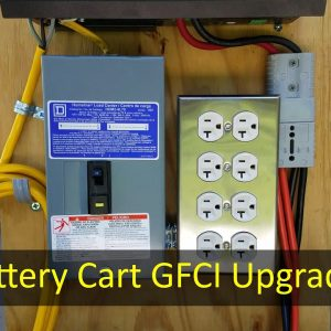 Adding GFCI and Over-Current Protection to the DIY Portable Power Cart
