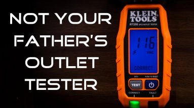 Best Klein Tools RT250 GFCI Receptacle Tester with LCD