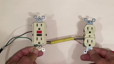 Connecting 2nd outlet to GFCI outlet