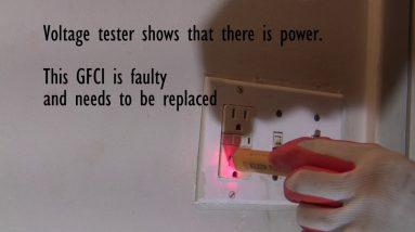 Fix: GFCI Outlet Won't Reset