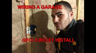 Garage Renovation: How to Install GFCI Outlets