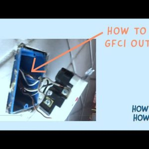 How to fix GFCI outlet that instantly shorts out (makes clicking sound and shorts out)