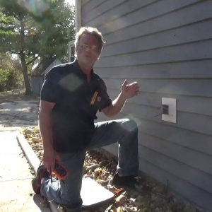 Installing an Outdoor GFCI - Conduit with No Ground Wire